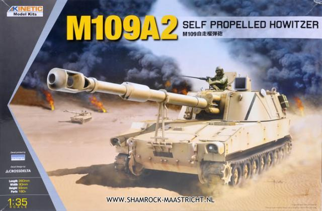 Kinetic Model Kits M109A2 Self Propelled Howitzer