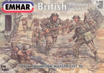 Emhar British WWI Infantry with Tank Crew