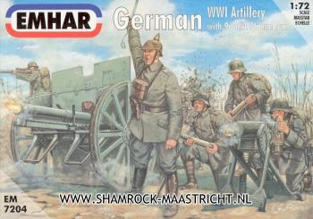 Emhar German WWI Artillery with 96 n/A 76mm gun