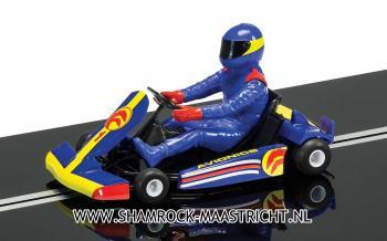 Scalextric Super Kart No.1 Solo Car Blue