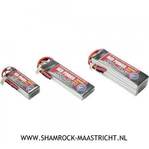 Red Power Lipo Accu Red Power 11,1V 1000mAh - 25C XH