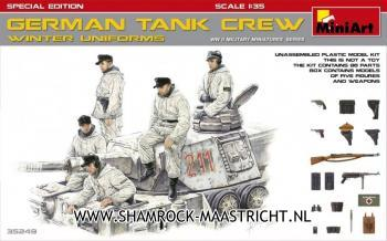 Miniart German Tank Crew winter uniforms 1/35 WWII