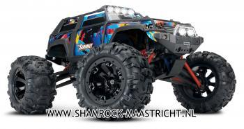 Traxxas Summit 1/16 Rock and Roll 2.4GHz 4WD Extreme Terrain Monster Truck RTR