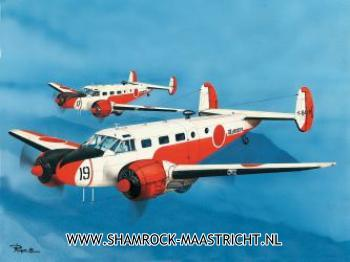 PM model Beechcraft SNB-4/5 Benibato 1/72