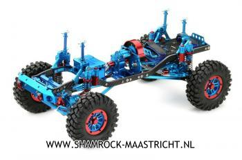 Absima EP Crawler CR-01 metallic blue 4WD Rolling Chassis 1/10