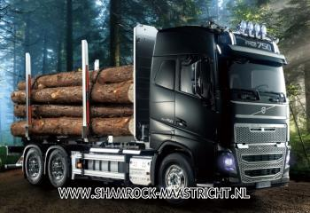 Tamiya Volvo FH16 Globetrotter 750 6x4 Timber Truck 1/14