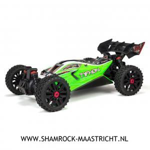 Arrma 1/8 TYPHON MEGA 550 Brushed 4WD Speed Buggy RTR Int, Green
